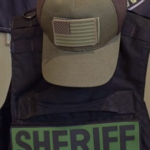 Green Sheriff Placard