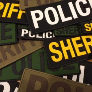 Law Enforcement Patches & Placards